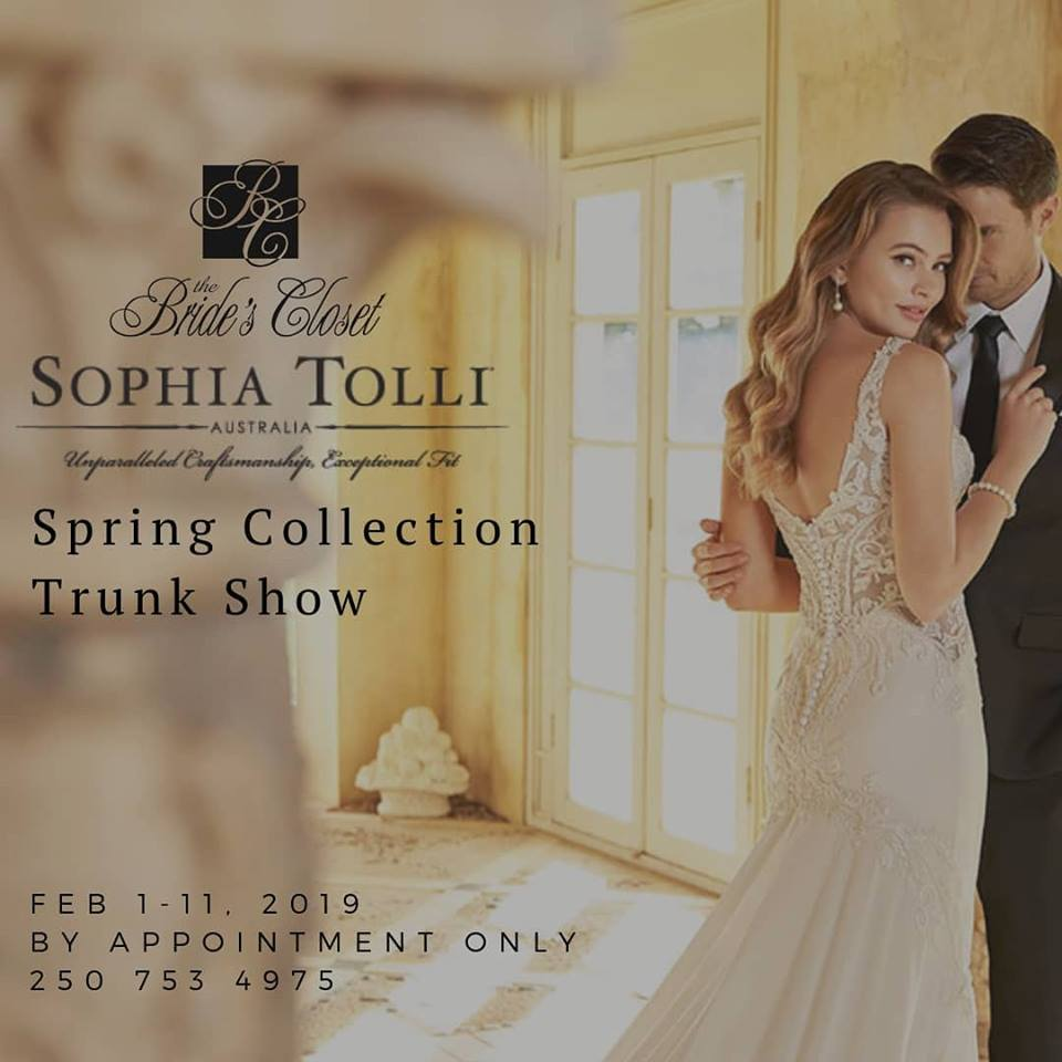 sophia tolli trunk show feb 1-11 2019